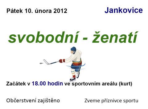 Pozvánka na hokej