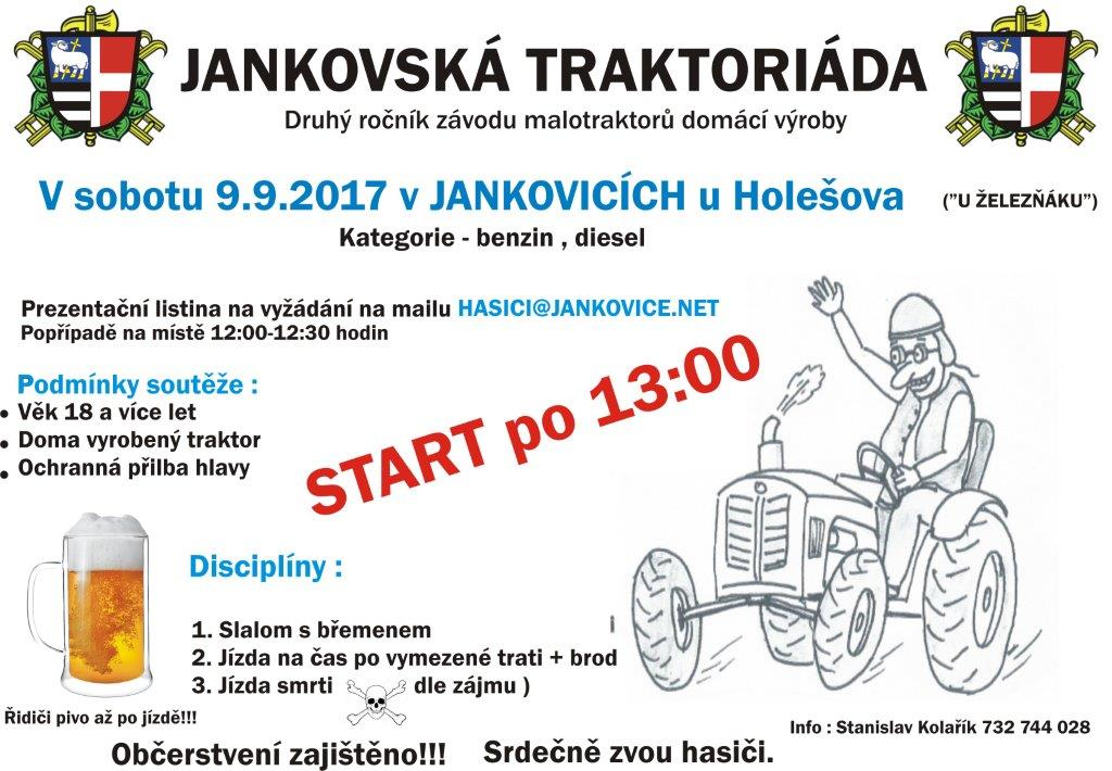 Plakát Traktoriáda 2017