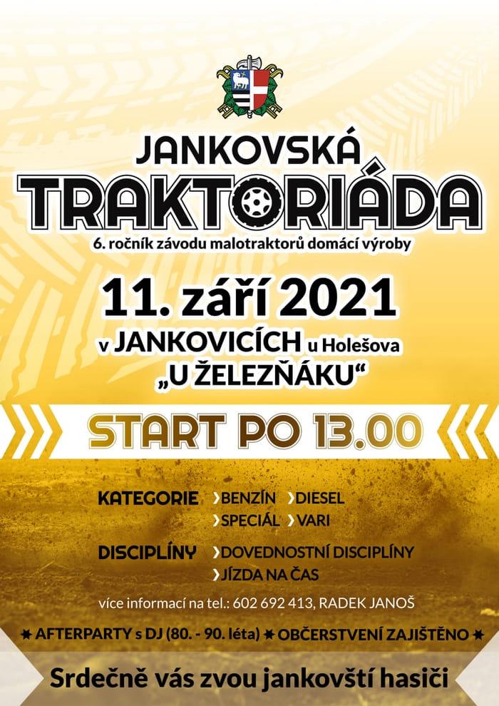 Plakát Jankovská traktoriáda